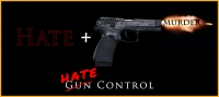 Gun Control or Hate Control?